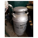 Milk Can Galloway House