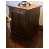 Ice Box End Table