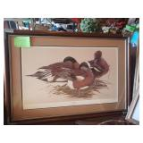 #13 Sitting Pretty , numbered 802/5600, Framed and matted $75.00