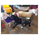#3,4,5,7 - American Doll Horses - between $25 to $35