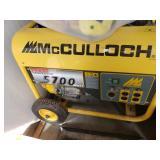 #1 McCulloch 5700 watts Generator $350.00