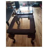 matching  end tables $45 each