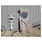 Barn Door yard art