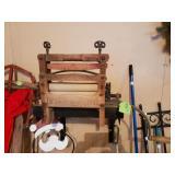Antique Ringer Washer