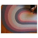 Oval room rug