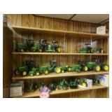 John Deere toy Tractors