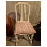 Antique Metal chair matches 3/4 Bed