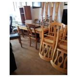 Set of 4 Blonde Chairs