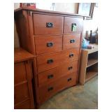 """Misssion Chest of Drawers - 51""""T, 40""""L. 19"""" D, -"""