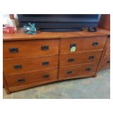 Mission Mirrored Dresser or TV Stand - bottom Base - 34