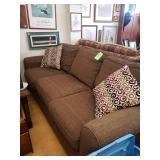 Basset Brown Sofa- 86