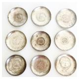 Tuck Chang Sterling Silver Coaster Set