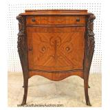 — ONE of the BEST —  9 Piece Satinwood and Rosewood Inlaid American French Style Bedroom Set  with