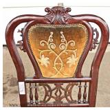 PAIR of Victorian Style Mahogany Chairs