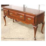 """Cherry Queen Anne 3 Drawer Buffet by """"American Drew Furniture"""""""