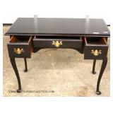 """Solid Mahogany Queen Anne Vanity by """"Virginia House Furniture"""""""