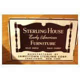 """3 Piece Solid Cherry Queen Bedroom Set by """"Sterling House Early American Furniture"""" Jamestown, NY"""