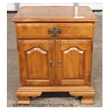 """Selection of Solid Maple High Chest, Low Chest with Mirror, and Night Stand by """"Ethan Allen"""""""