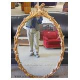 Carved Decorator Mirror