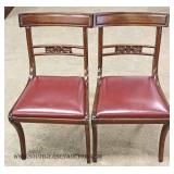 """10 Piece Mahogany Dining Room Set by """"Met2Made Furniture"""""""