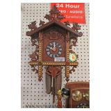 Selection of Cuckoo Clocks and Wall Style Phones