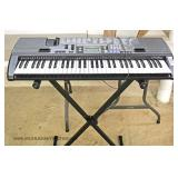 Electronic Keyboard on Stand