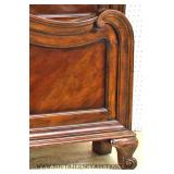 """5 Piece Mahogany Country French Style King Size Bedroom Set by """"Thomasville"""""""