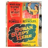 Selection of VINTAGE Movie Posters and Advertisements  In Original Found Condition