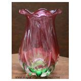 Selection of Hand Blown Art Glass Vases