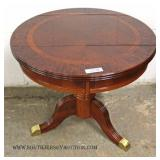 Selection of Burl Mahogany and Banded Living Room Tables