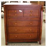 CONTEMPORARY Cherry High Chest Located Inside - Auction Estimate $100-$300scription