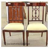 PAIR Mahogany Hepplewhite Style Side Chairs Located Inside - Auction Estimate $50-$100