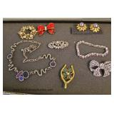 LARGE Selection of Estate & Costume Jewelry Located Inside - Auction Estimate $20-$100