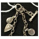 STERLING Charm Bracelet Located Inside - Auction Estimate $20-$40