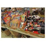 Selection of Box Lots of New Action Figures and Toys Located Inside - Auction Estimate $20-$60 per f