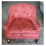 Modern Design Upholstered Club Chair Located Inside – Auction Estimate $100-$300