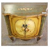 Italian Paint Decorated 2 Door Cabinet Located Inside – Auction Estimate $100-$300
