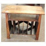 ANTIQUE Oak Book Stand Located Inside – Auction Estimate $100-$200