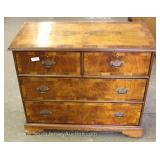 ANTIQUE Cherry 2 Over 2 Chest Located Inside – Auction Estimate $200-$400