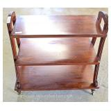 Mahogany 3 Tier Bookshelf Located Inside – Auction Estimate $50-$100