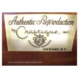 "SOLID Cherry Bracket Foot High Chest and Low Chest by ""Authentic Reproductions by Craftique Furnitur"