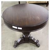 "PAIR of Contemporary Mahogany Round Lamp Tables by ""Ralph Lauren"" Located Inside – Auction Estimate"