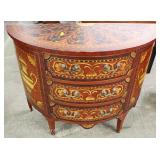 PAIR of Mahogany Paint Decorated 3 Drawer Commodes Located Inside – Auction Estimate $200-$400