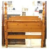 Pine Queen Size Poster Bed Located Inside – Auction Estimate $200-$400