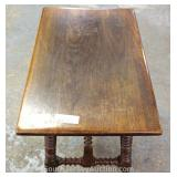 "PAIR of Oak Small Benches by ""Kittinger Furniture"" Located Inside – Auction Estimate $50-$100"