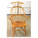 Maple Brace Back Arm Chair Located Inside – Auction Estimate $100-$200