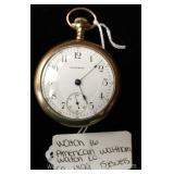 "15 Jewels Pocket Watch by ""American Waltham Watch Company ""circa 1899"