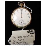 "19 Jewel 5 Position Pocket Watch by ""Howard Watch Company"" circa 1914"