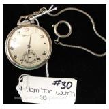 Hamilton Watch Company Pocket Watch