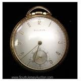 17 Jewels Bulova Pocket Watch circa 1939